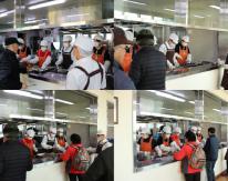 2월 청계종합사회복지관 경로식당 자원봉사