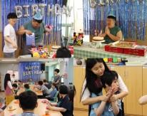 8월 생일파티