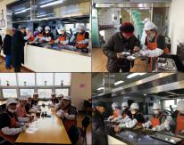1월 청계종합사회복지관 경로식당 자원봉사