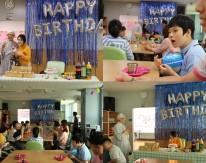 9월 생일파티